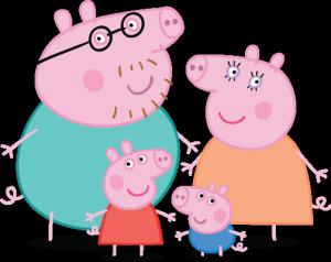Famille de Peppa Pig