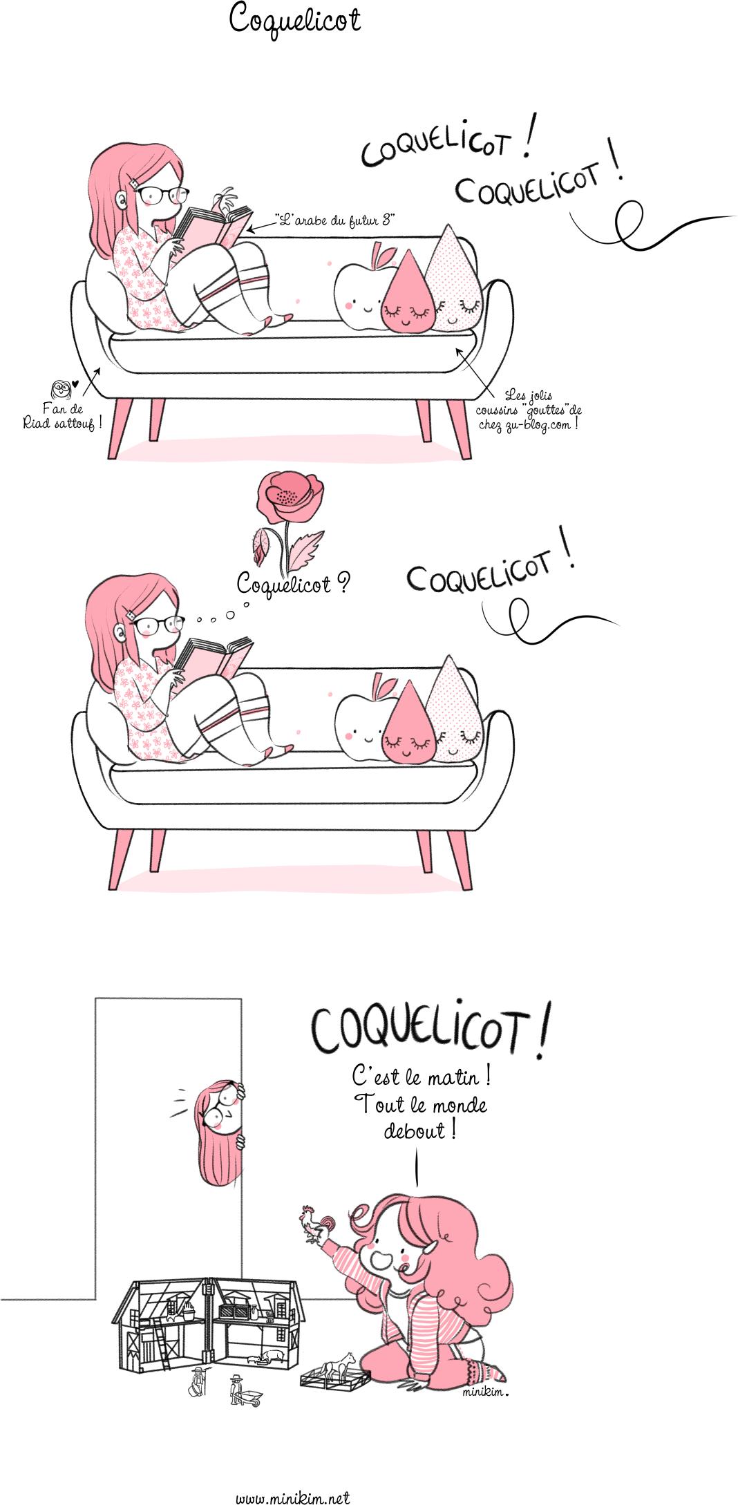 Joli coquelicot Cocorico