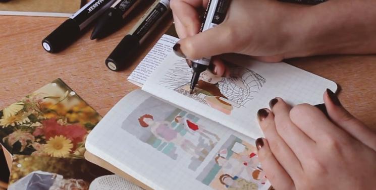 Auriculaire, podcast, autrice, autrices, bande dessinée, féministe, engagées, donne la parole aux autrices, dessinatrice, scénariste, coloriste, genre de la Bande dessinée, Marie Spénale, entrevue, Elise Ponce, journaliste, Heidi au printemps, Wonder pony