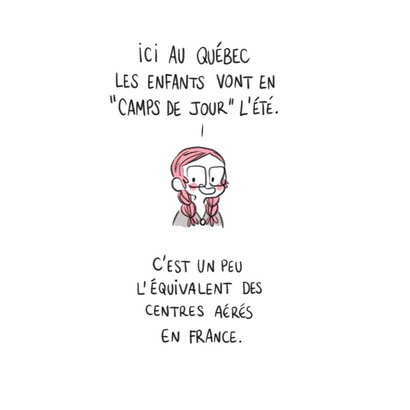 Minikim, Camp de jour, Centre aérés, mots d'enfant, dessin, preview, la lettre dessinée, illustration, Québec, Montréal, dessinateur, illustrateur